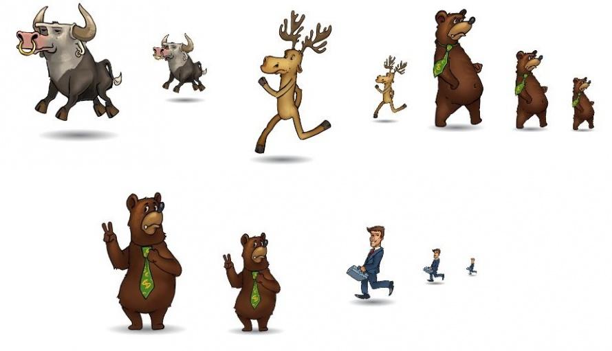 лучшего картинки русских персонажей для анимации где
